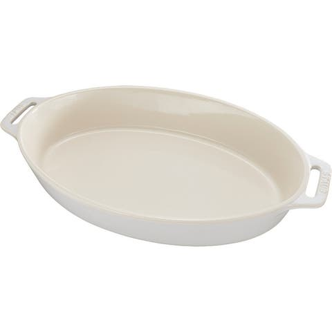 Staub Ceramic 14.5-inch Oval Baking Dish