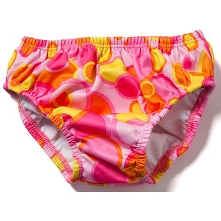 FINIS Reusable Swim Diaper - Pink Bubble (3 options available)