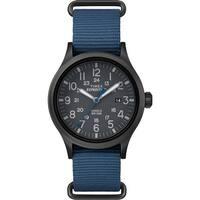 Timex Expedition Scout Slip-Thru Watch - Blue