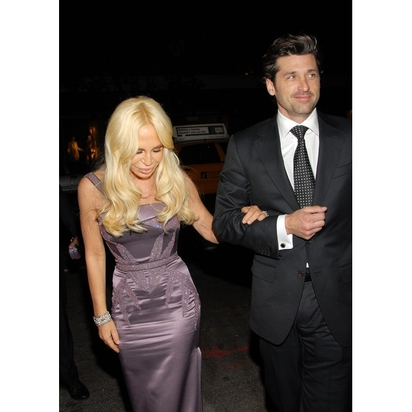 Donatella Versace Patrick Dempsey At Arrivals For 2008 Whitney Museum Of American Arts Gala And Studio Party Whitney Museum Of A