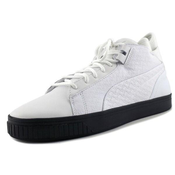 Puma Play B&W Men Puma White-Puma White Sneakers Shoes