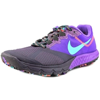Nike Zoom Wildhorse 2 Women Round Toe Synthetic Purple Running Shoe