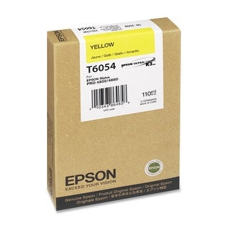 Ultrachrome K3 Ink - Yellow - For Stylus Pro 4800/4880 Printers, 110ml by Epson