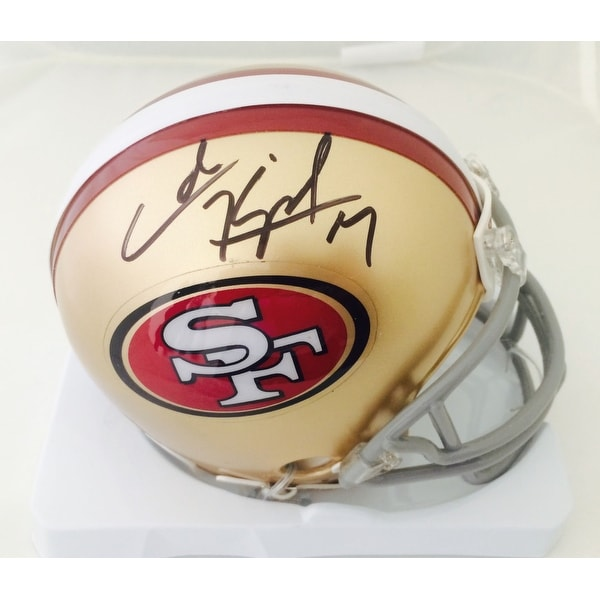 a287a4aa225 Shop Colin Kaepernick Autographed San Francisco 49ers Signed Mini Helmet -  Free Shipping Today - Overstock - 11512614