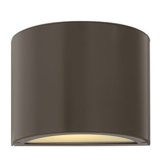 """Hinkley Lighting 1667-GU24 5"""" Height 1 Light ADA Compliant Fluorescent Outdoor Wall Sconce from the Luna Collection"""