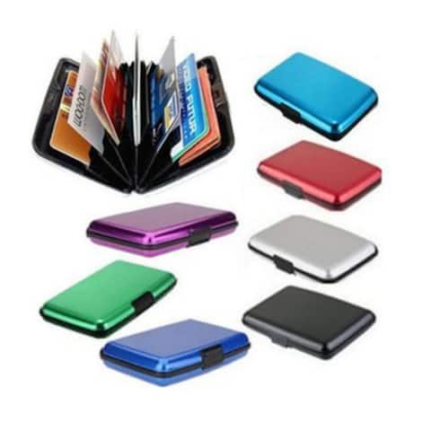 Multicolored Pocket Waterproof Wallet Business Id Credit Card Purse