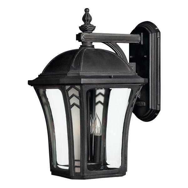 "Hinkley Lighting H1335 18.5"" Height 3-Light Lantern Outdoor Wall Sconce from the Wabash Collection"