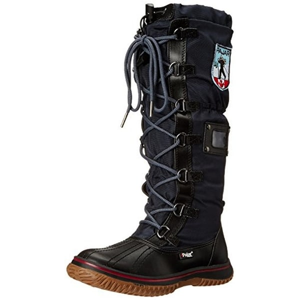Pajar Womens Grip Snow Boots Waterproof Shearling Lined