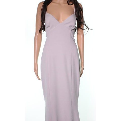 Katie May Gray Dove Strappy Luna Women's Size 12 Evening Gown