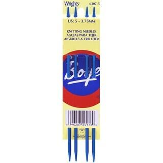 "Double Point Aluminum Knitting Needles 7""-Size 5/3.75mm"