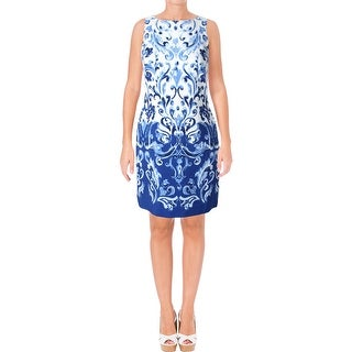 Lauren Ralph Lauren Womens Petites Cocktail Dress Printed Sleeveless (2 options available)