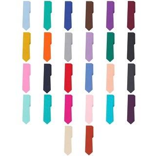 Jacob Alexander Polka Dot Print Men's Reg Polka Dotted Tie - One size