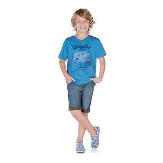 Pulla Bulla Little Boy Graphic Tee Short Sleeve Shirt (3 options available)
