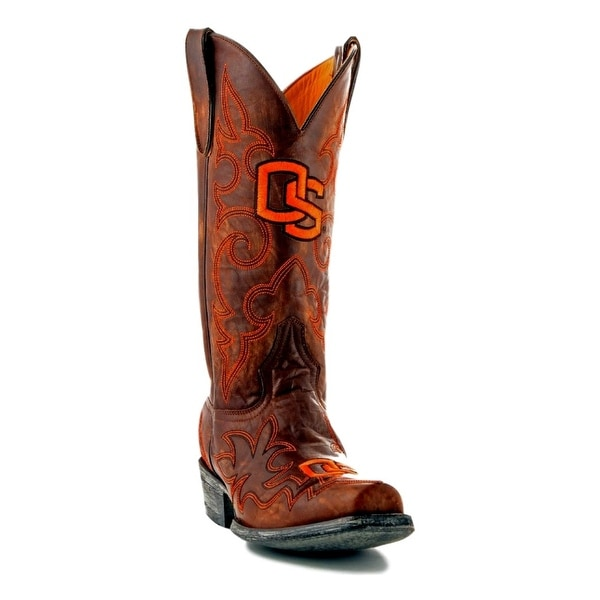Gameday Boots Mens College Team Oregon State Beavers Brass