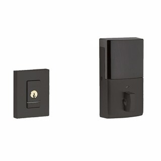 Baldwin 8220.B Evolved Contemporary Single Cylinder Deadbolt with Bluetooth Technology