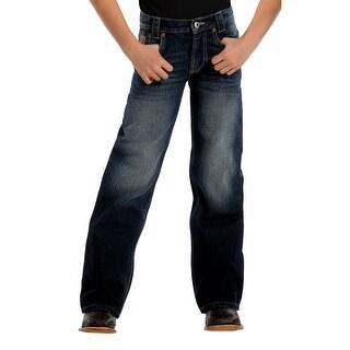 Cinch Western Denim Jeans Boys Kids Carter II Denim Dk MB16142002