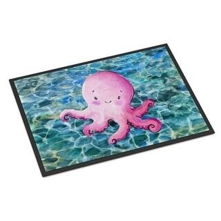 Carolines Treasures BB8522MAT Octopus Indoor or Outdoor Mat - 18 x 27 in.