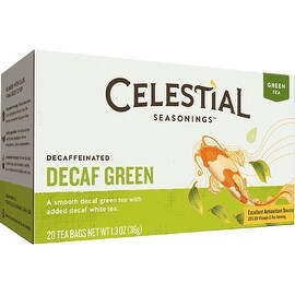 Celestial Seasonings Decaffeinated Green Tea 20 ea