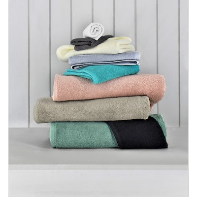 Classic Turkish Cotton Towels With Oversized 2 Bath Sheets (30x60) And 2 Bath Towels (24X48) And Bathmat (Set of 9) Quick Dry
