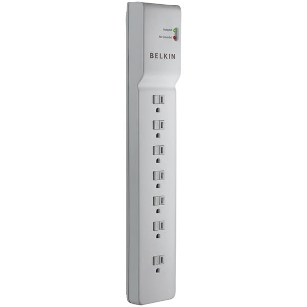 Belkin Be107000-06-Cm 7-Outlet Home/Office Surge Protector (6Ft Cord)