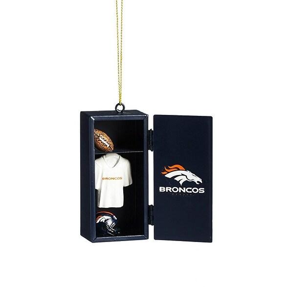Denver Broncos Team Locker Ornament
