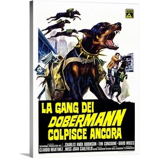 """Link to """"The Doberman Gang (1972)"""" Canvas Wall Art Similar Items in Learning & Educational Toys"""