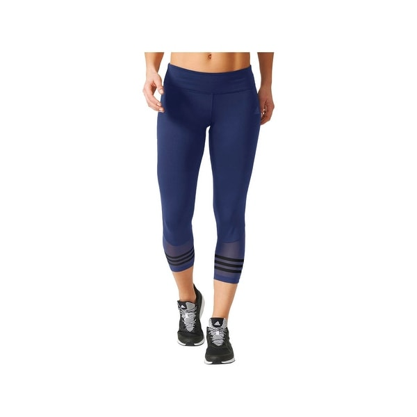 0f53c97f1b308 Shop Adidas Womens Athletic Leggings Cropped Yoga - 2XL - Free Shipping On Orders  Over $45 - Overstock - 22391554