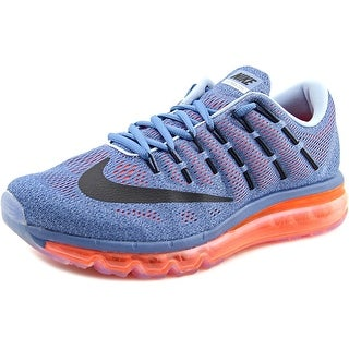 Nike Air Max 2016 Women Round Toe Synthetic Blue Running Shoe