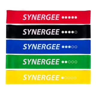 Synergee Mini Band Resistance Loop Exercise Bands 5PK With Carry Bag and Manual - set of 5 with manual and carrying bag|https://ak1.ostkcdn.com/images/products/is/images/direct/7553c1d66d87b786d4024384896f7ea39c33ed82/Synergee-Mini-Band-Resistance-Loop-Exercise-Bands-5PK-With-Carry-Bag-and-Manual.jpg?impolicy=medium