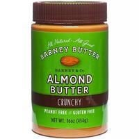 Barney Butter - Crunchy Almond Butter ( 6 - 16 oz jars)