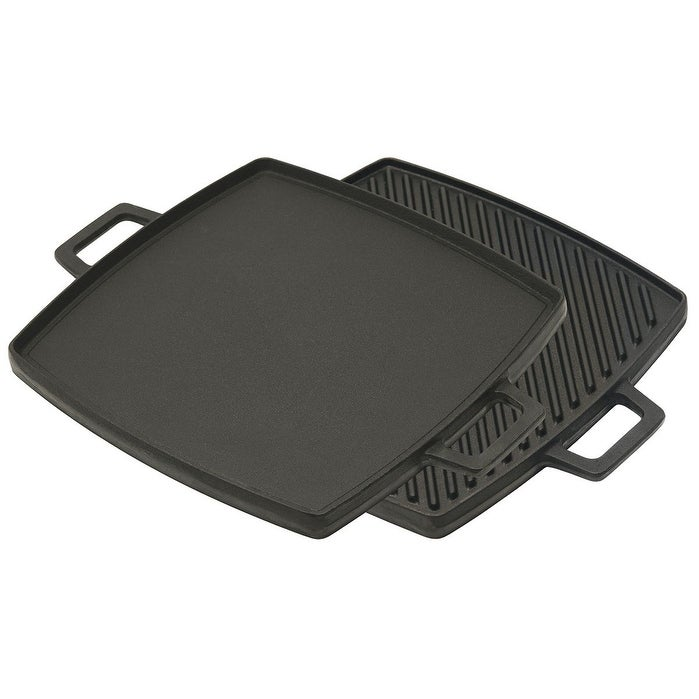 Bayou Classic® Cast Iron 14-inch Reversible Griddle
