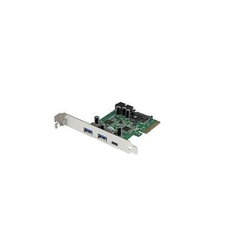 Startech Pexusb312eic 5 Port Usb 3.1 Combo Card, Green/ Silver