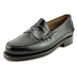 Johnston & Murphy Ski-Moc Men   Leather Black Moccasins