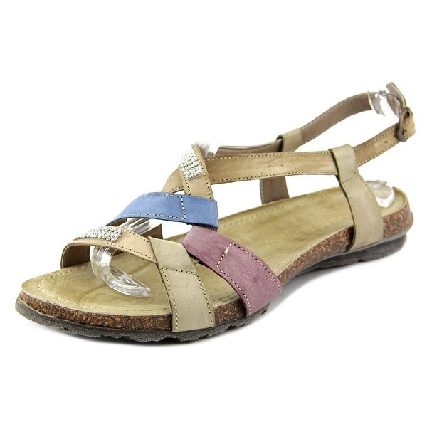 Napa Flex Aria Women Open-Toe Leather Slingback Sandal