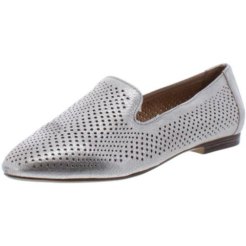 Naturalizer Womens Lorna 2 Smoking Loafers Leather Slip On