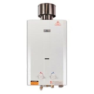 Eccotemp L10  2.65 GPM Liquid Propane Outdoor Tankless Water Heater - White