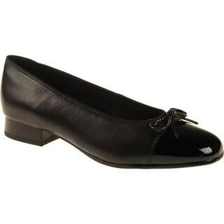 ara Women's Bel 43708 Black Nappa/Patent Tip