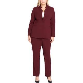 002c7a40435 Tahari ASL Womens Plus Pant Suit Duster Work Wear