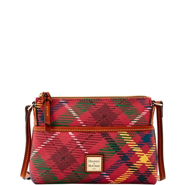 Dooney & Bourke Durham Ginger Crossbody (Introduced by Dooney & Bourke at $128 in Sep 2016) - Wine