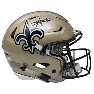 Alvin Kamara Signed New Orleans Saints Authentic Full Size SpeedFlex Helmet JSA