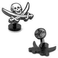 Black Pearl Flag Cufflinks