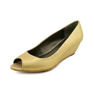 Alfani Cammi   Open Toe Synthetic  Wedge Heel