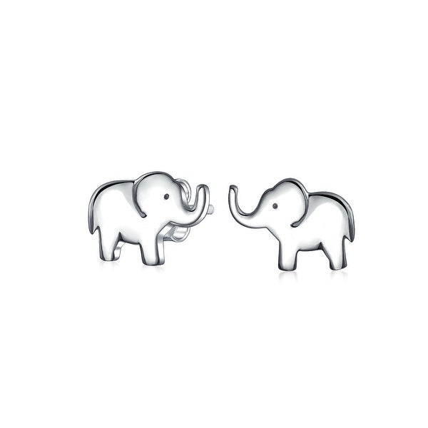 2c70b83a3 ... zoo animal lover good luck wise elephant stud earrings for ...