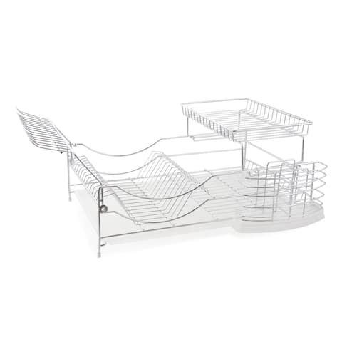 Better Chef 22-inch Dish Rack - Silver