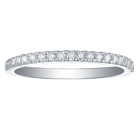Smiling Rocks Essential Collection 0.27Ct G-H/VS1 Lab Grown Diamond Ring