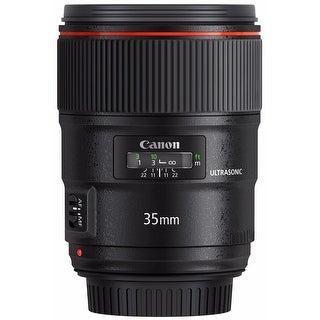 Canon EF 35mm f/1.4L II USM Wide-Angle Lens - black