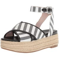 Nine West Women's Showrunner Fabric Sandal