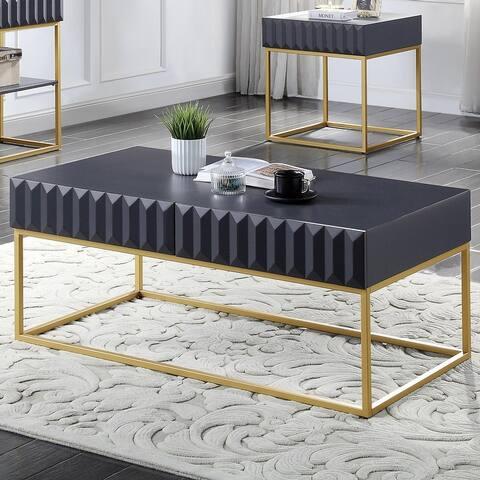 Furniture of America Bird Mid-Century Modern Coffee Table