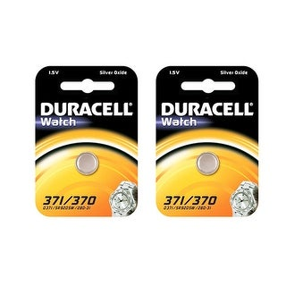 """""""Battery for Duracell D370/371 (2-Pack) Replacement Battery"""""""