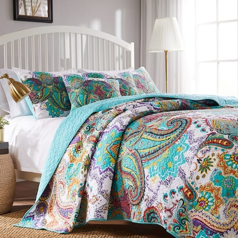 The Curated Nomad Horsdal Oversized Reversible Cotton Quilt Set